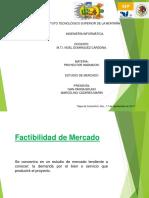 Factibilidad Del Mercado