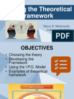 Framing the Theoretical Framework