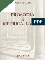 E. Di Marzo 1946 Prosodia e Metrica Latina