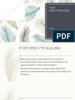 POST STRUCTURALISM REPORT.pptx