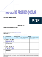 Raport de Progres Scolar Inv Primar DEFINITIVAT 2018