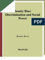 Bonnie Berry - Beauty Bias, Discrimination and Social