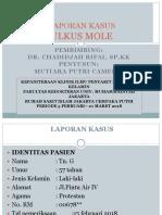 Laporan Kasus Ulkus Mole