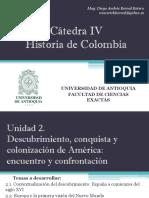 Unidad 2 Descubrimiento, Conquista y Colonización de América (Avances)