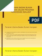 Peranan Badan Bukan Kerajaan Dalam Program Pendidikan Inklusif