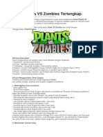 Cheat Plants vs Zombies Terlengkap