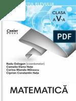 Caiet Matematica Cls 5 Oct2017