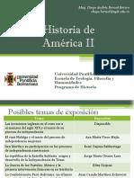 Temas Artículos Historia América II
