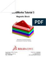SolidWorks_Tutorial03_MagneticBlock