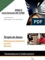 Terapia de Apoyo e Intervención en Crisis (Presentacion)