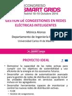Gestion y Congestiones de Redes Electricas Inteligentes