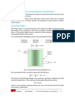 First Law of Thermodynamics_Control Volumes