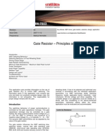 An-7003 Gate Resistor-Principles and Applications Rev00