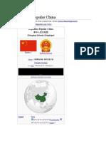 La Historia de La Republica Popular de China Febrero 2018