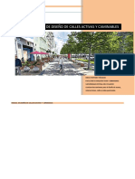 Manual de Diseño de Calles Activas y Caminables