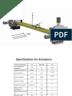 Actuator Specification