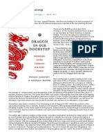 Dragon on Our Doorstep – Countercurrents