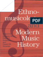 Ethnomusicology and Modern Music History