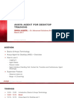 Avaya Agent Training Presentation