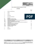Norma de Construccion de La Red Del Cliente Para Fibra a La Casa n0304205