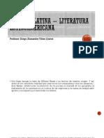 América Latina - Literatura Latinoamericana