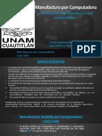 Manufactura Por Computadora.