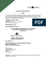 Basagran Forte Label