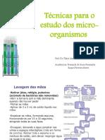 2. Técnicas Para o Estudo Dos Micro-Organismos
