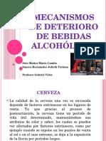 Mecanismos de Deterioro de Bebidas Alcohólicas
