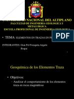 Geoquimica Ppt ULTIMO