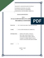 Word EIA y Desarrollo Sostenible