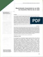 Mucormicosis rinocerebral en un niño con leucemia