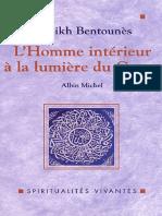 Cheikh Bentounes - L_Homme intérieur à la lumière du Coran (Spiritualités vivantes)