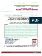 FORMULATION AND EVALUATION OF FLOATING TABLETS OF FAMCICLOVIR USING VARIOUS HYDROPHILIC AND HYDROPHOBIC POLYMERS