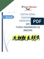 Kertas Kerja Kejohanan Merentas Desa STM1 2018
