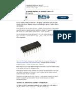 Aumentando as Portas Digitais Do Arduino Com o CI 74HC595 - Shift Register