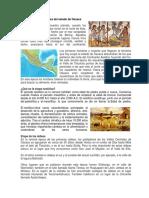 Los Primeros Pobladores Del Estado de Oaxaca