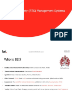 ISO 39001 Road Traffic Safety Management Systems BSI