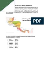 Division Politica de Centroamerica Hector Calizç