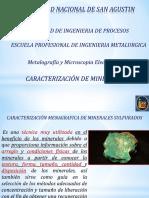 3ra Clase C Presentacion Metalografia Caracterizacion de Minerales II Parcial