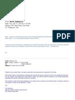 De Smith Response e-mails