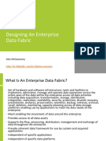 Designing an Organisation Data Fabric