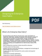 Designing an Organisation Data Fabric