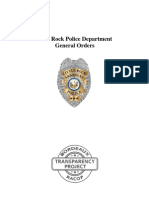 Little Rock Police Department General Orders
