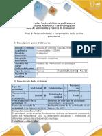 Guía de actividades y rúbrica de evaluación - Paso 1  - Reconocimiento y comprensión de la acción psicosocial.pdf