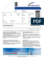 Home Printed Boarding Pass