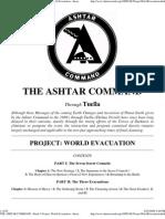 ASHTAR COMMAND -WORLD EVACUATION