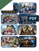 Calcomanias Avengers