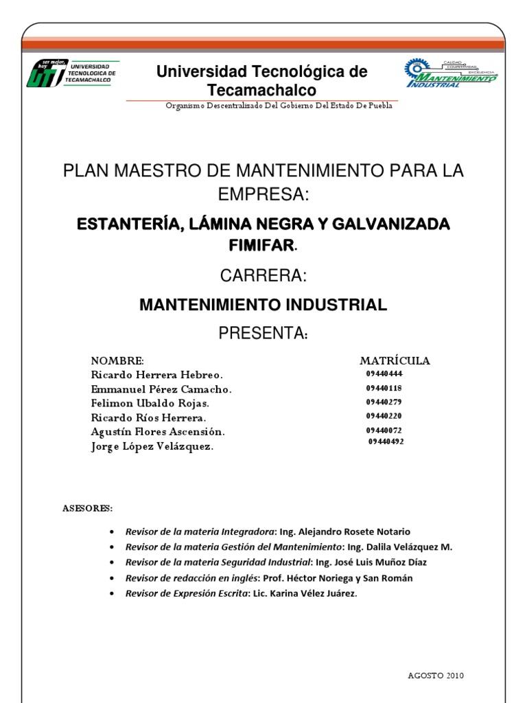 trabajador de mantenimiento ejemplo de ] | modelo curriculum vitae ...