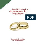 ++ folleto liturgia matrimonio- version para imprimir